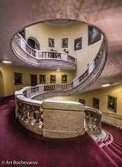 Inside Whitehall Court, London. (abochevarov) Tags: purple london uk interior zeiss wide zeissdistagon nikond810 nikon tripod architecture interiordesign staircase whitehallcourt whitehall europe