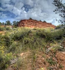 Red Hill (JoelDeluxe) Tags: bryce national monument park hoodoos redrocks views trails queens trail navajo loop ut hdr joeldeluxe