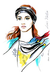 img943 (Irina V. Ivanova) Tags: 365sketches fashionillustration sketching fashion louisvuitton