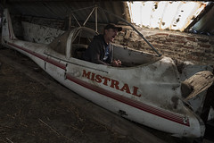 Flying high again (Kriegaffe 9) Tags: selfie plane abandoned silly