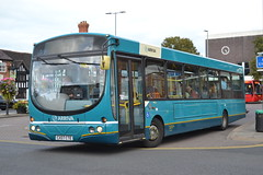 Arriva North West 2643 CX07CTE (Will Swain) Tags: nantwich bus station 23rd september 2016 cheshire north west south county buses transport travel uk britain vehicle vehicles country england english arriva 2643 cx07cte