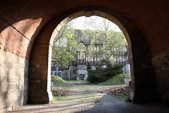 Torhaus (julia_HalleFotoFan) Tags: thüringen fachwerk reanaissance leerstand wartburgkreis rotesschloss mihla