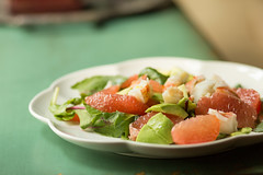 Lobster, Avocado, and Grapefruit Salad (Pamela Greer) Tags: food cooking avocado salad lobster grapefruit
