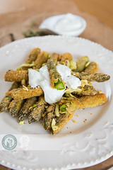 Delicious Fried Asparagus (Cristian Sabau) Tags: food vertical closeup dinner vintage paper table lunch photography rustic cream plate nopeople delicious indoors fries asparagus simplicity romania meal bunch appetizer transylvania parmesan freshness selectivefocus healthyeating partof colorimage greencolor