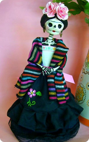 Frida Catrina Paper Mache Doll A Photo On Flickriver