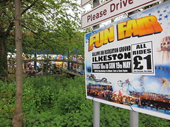 All rides a 1, fair enough (Lady Wulfrun) Tags: fairground derbyshire funfair ilkeston 1 gallowsinn