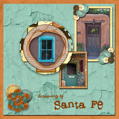 LOAD18 (Santa Fe) (Puffinliz) Tags: papers travelvacation digitalscrapbookpages load513 naturefloweryourdoors load18 digisdavidstriptodurango