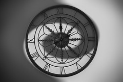 2 : 12 (ashley.slaton) Tags: light two white black dark spiral photography time yang numbers balance conceptual yin clocks symbolism flickrandroidapp:filter=none