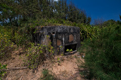 West District bunker from outside I. (tommiblom) Tags: military vietnam jungle historical trenches vietnamwar bunkers guntower militaryareanophotography
