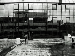 (Prateek.A) Tags: white black monochrome mobile delhi dream surreal illusion gurgaon jwt