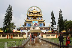 Golden Temple, Coorg, Karnataka (ravikrishnanak) Tags: goldentemple goldentemplecoorgkarnataka buddhisttemplecoorgkarnataka