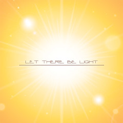 Let There Be Light (DryIcons) Tags: light sun yellow shine background shining vector