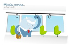 monster on bus (_nere_) Tags: bus monster sleep lo dormir autobus monstruo monstruoa