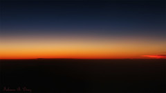 Anoitecer do Avio com Vnus (Dusk from Airplane with Venus) (Fabiano Diniz) Tags: