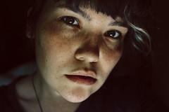 fckng smmr (pugacheva_sonya) Tags: girl face digital self young hazel freckles potrait lookatthecamera