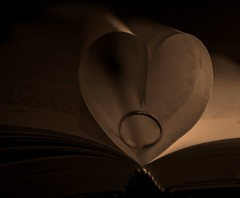 read my love (Paolo.S - Fotografie) Tags: love book married heart poetic ring read
