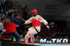 JCC Veracruz 2014, día 2