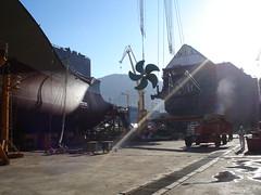 DSC00672 (stage3systems) Tags: shipbuilding dsme teekay rasgas