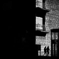 balconies (bemberes) Tags: bw urban bilbao epl3