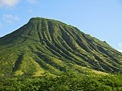 Koko Head Crater (kenjet) Tags: green lush landscape crater hawaii island oahu nature natural formation landmark kokocrater kokohead kokoheadcrater