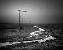 lines of communication (vulture labs) Tags: bw mist art fog landscape photography iceland moody fine vulturelabs