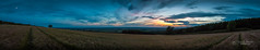 The last light of the day... (tbnate) Tags: tbnate garrowby nikon nikond750 d750 eastridingofyorkshire yorkshire outdoor outside dusk landscape panorama field wheat sky clouds nature lights sunset bluehour night
