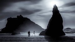Landscape photographer (Stan Smucker) Tags: beach oregoncoast witchhat sunset goldcollection