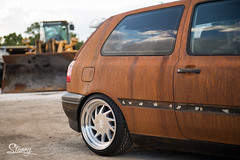 Stancy's Ruined Mk3 Patina Rusted vw mk3 gti vr6 lowered (@stancyvw) Tags: rusty rust rusted patina lowered vw mk3 gti vr6 golf static euro dubempire ruinedmk3