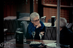 Old woman Flinders (Michael JIN97) Tags: flindersstreet flinders flindersstreetstation people person cultural melbourne vic victoria australia nikon nikond800e 70200mm oldwoman old color colour coloris