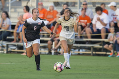Oklahoma State Cowgirls vs Oral Roberts Golden Eagles Soccer Game, Sunday, August 28, 2016, Cowgirl Soccer Complex, Stillwater, OK. Bruce Waterfield/OSU Athletics (OSUAthletics) Tags: 2016 osu big12 cowgirls eagles goldeneagles oklahomastateuniversity oralroberts oru soccer
