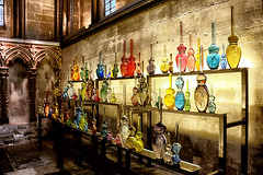 Devotion (Crisp-13) Tags: salisbury cathedral reflection art exhibition sculpture glass devotion louis thompson