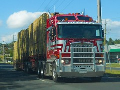 photo by secret squirrel (secret squirrel6) Tags: craigjohnsontruckphotos kenworth cabover bdouble olssonstransport kw coe trucking