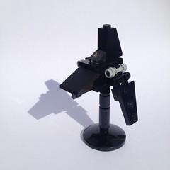 Krennic's Imperial Shuttle MOC (FxanderW) Tags: lego starwars rogueone r1 moc custom micro mini scale krennic shuttle imperial empire krennics