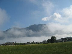 Wolfgangsee (marbaz_12) Tags: sterreich austria salzkammergut wolfgangsee lake wolfgang dust fog nebel