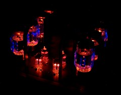 Almarro A50125A tubes glowing in the dark, 2 (teddy_qui_dit) Tags: almarro a50125a tubeamp amplificateurlampe amplificateurtubes vaccumtube madeinjapan quality