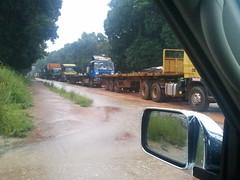 Convoi de camions