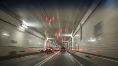Tunnel. Day 239 (RPStrick) Tags: tunnel harbor bridge baltimore lights cars brake