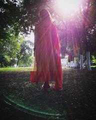 Beauty. (souravpaul2) Tags: creative tinsukia assam india traditionalwear girl rays sunshine trees beauty travel