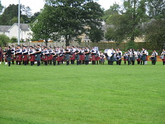Massed Pipe Bands (cessna152towser) Tags: kilt bagpipes pipeband cumnock
