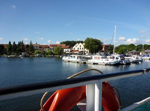am Hafen Röbel