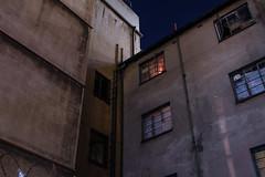 Joburg (elsableda) Tags: night long exposure window light candle lights johannesburg joburg sky southafrica urban city