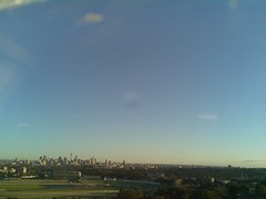 Sydney 2016 Aug 27 06:53 (ccrc_weather) Tags: ccrcweather weatherstation aws unsw kensington sydney australia automatic outdoor sky 2016 aug earlymorning