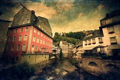 Monschau (Swissrock-II) Tags: montjoie walloon mondjoye monschau deutschland germany historic town texture photoshop nikon d700 august 2016 touristattraction