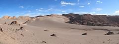 """Le désert d'Atacama: el Valle de la Luna. Du sable et de la roche à perte de vue. <a style=""""margin-left:10px; font-size:0.8em;"""" href=""""http://www.flickr.com/photos/127723101@N04/29193829546/"""" target=""""_blank"""">@flickr</a>"""