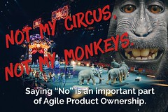 Not my circus, not my monkeys (philozopher) Tags: ownership priorities agile monkey circus