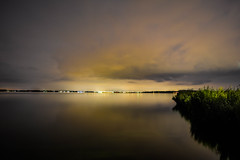 Long expositie. Tried Different style some gloomy and some dominating #lake#almere #haven #longexposure #night #nightphotography (Raw.Cookie) Tags: longexposure almere lake haven nightphotography night