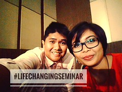 #LifeChangingSeminar  (Angga Santoso) Tags: instagramapp square squareformat iphoneography uploaded:by=instagram skyline