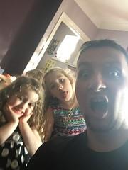 Chris & Kids (DJ Damien) Tags: august2g16 phone chris freya anezka talkingreal myspace