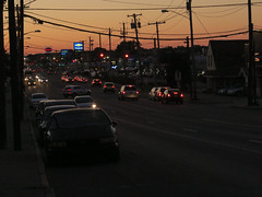 Central Avenue - Albany, NY (rik-shaw (blekky)) Tags: centralavenue albany upstatecities capitalcities theavenue sundown route5 newyorkstate 518 westgate canong5x twilightzone dusk intothesunset central albanyny statecapitals flickr