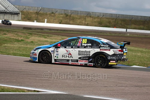 Tom Ingram at Rockingham, August 2016
